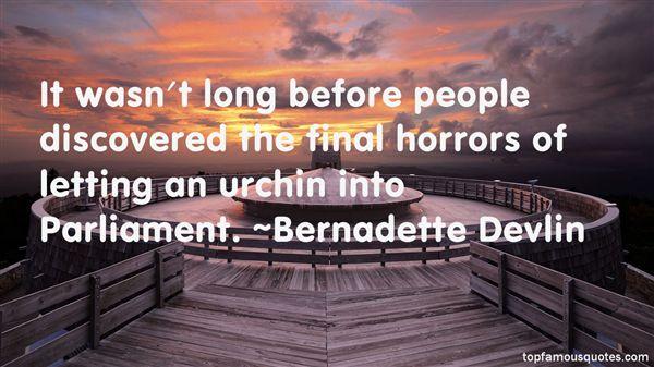 Bernadette Devlin Quotes