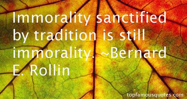 Bernard E. Rollin Quotes