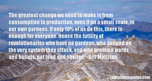Bill Mollison Quotes