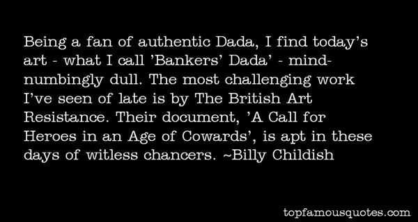 Billy Childish Quotes