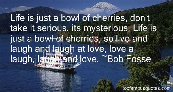 Bob Fosse Quotes