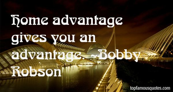 Bobby Robson Quotes