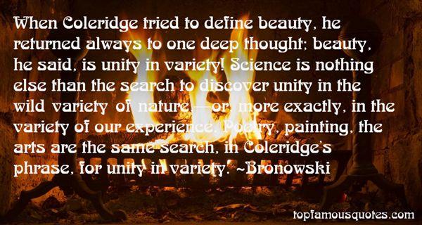 Bronowski Quotes