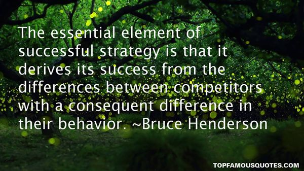 Bruce Henderson Quotes