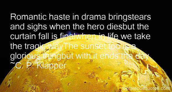 C. P. Klapper Quotes