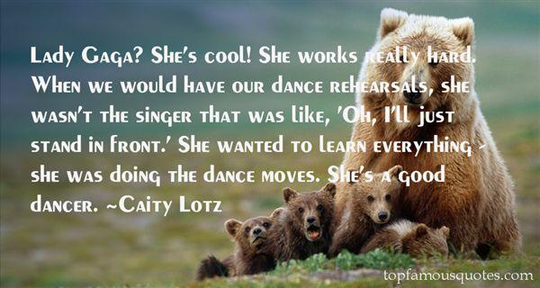 Caity Lotz Quotes
