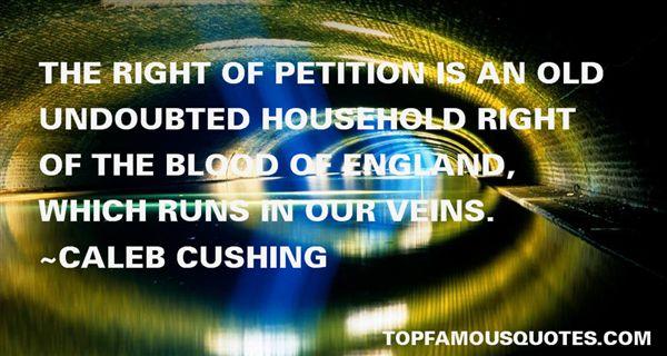 Caleb Cushing Quotes