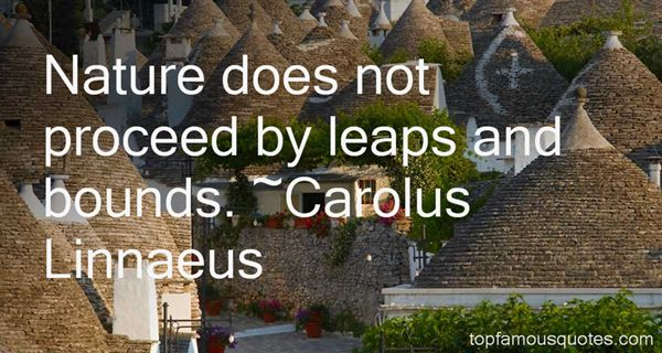 Carolus Linnaeus Quotes