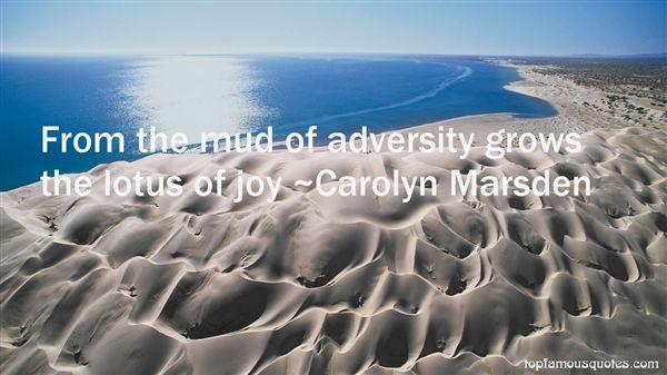 Carolyn Marsden Quotes