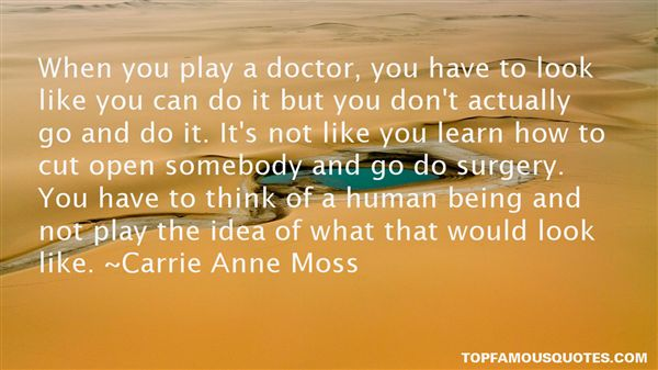 Carrie Anne Moss Quotes