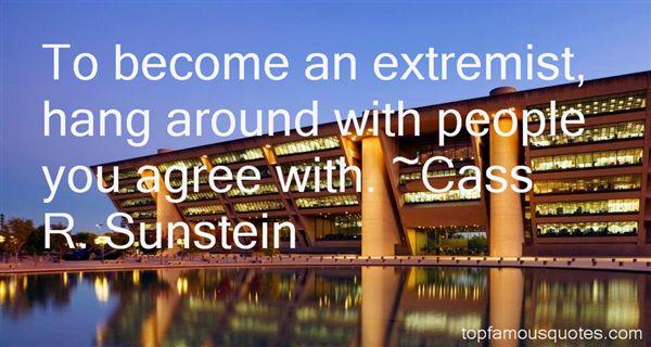 Cass R. Sunstein Quotes