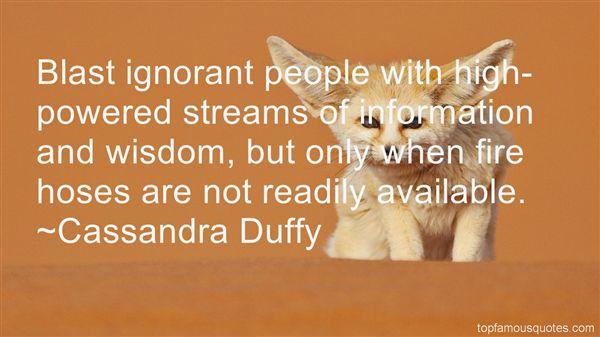 Cassandra Duffy Quotes