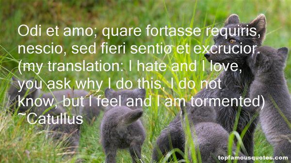 Catullus Quotes