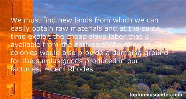Cecil Rhodes Quotes