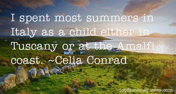 Celia Conrad Quotes