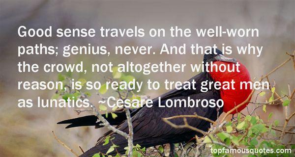 Cesare Lombroso Quotes