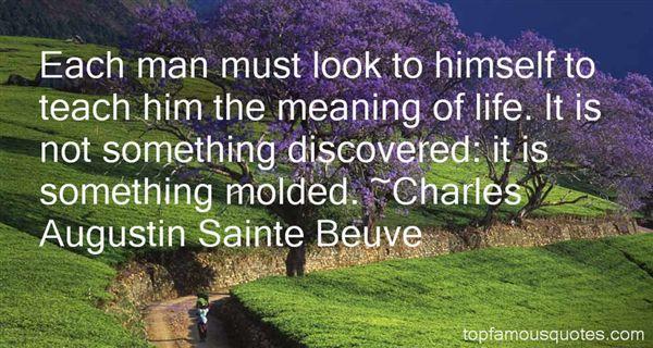 Charles Augustin Sainte Beuve Quotes