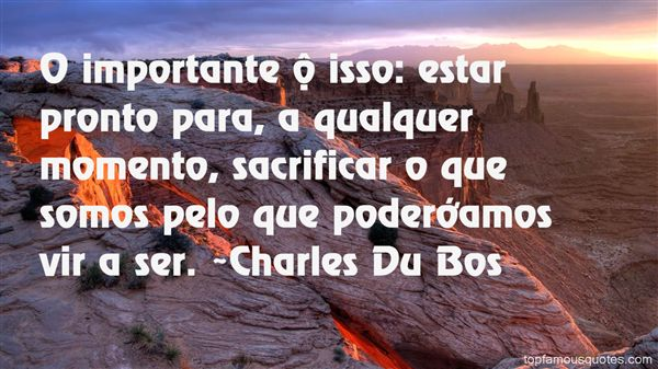 Charles Du Bos Quotes