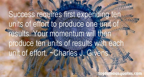 Charles J. Givens Quotes