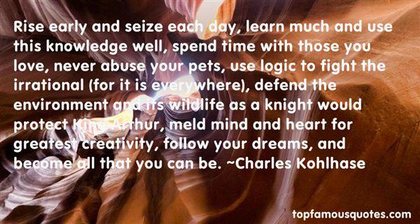 Charles Kohlhase Quotes