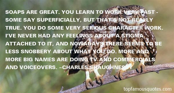 Charles Shaughnessy Quotes