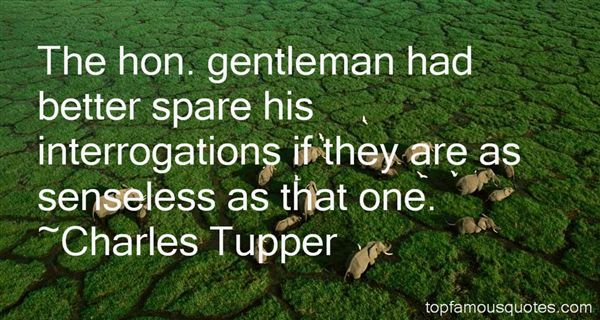 Charles Tupper Quotes