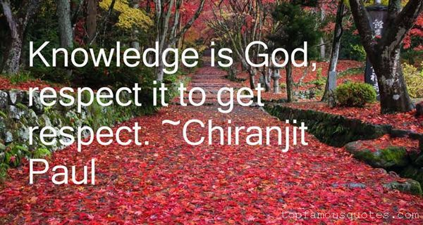 Chiranjit Paul Quotes