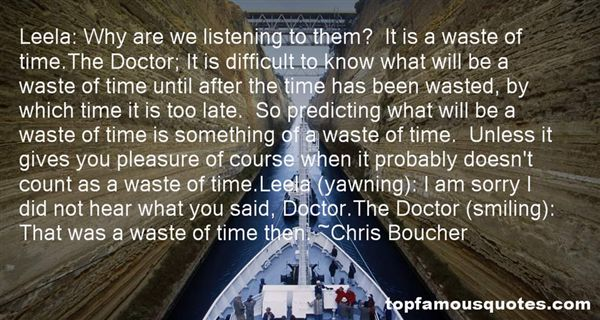 Chris Boucher Quotes