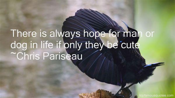 Chris Pariseau Quotes