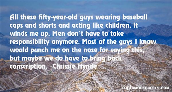 Chrissie Hynde Quotes