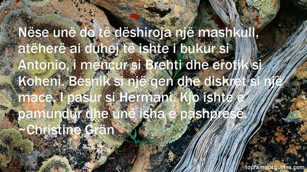 Christine Grän Quotes