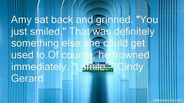 Cindy Gerard Quotes
