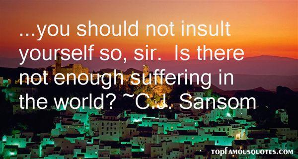 C.J. Sansom Quotes