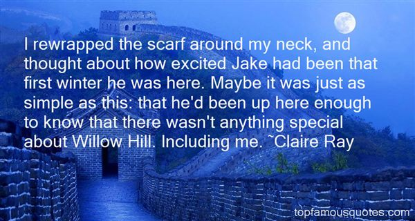 Claire Ray Quotes
