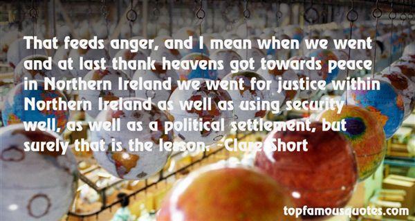 Clare Short Quotes
