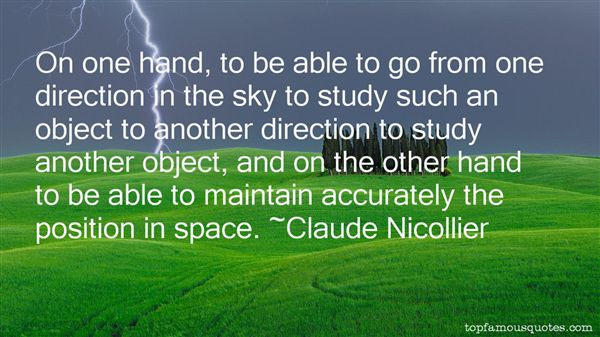 Claude Nicollier Quotes