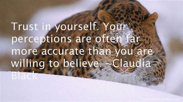 Claudia Black Quotes