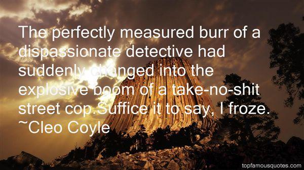 Cleo Coyle Quotes