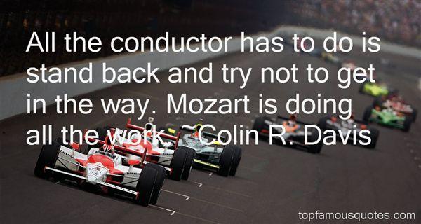 Colin R. Davis Quotes