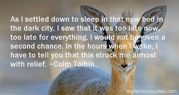 Colm Tóibín Quotes