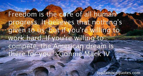 Connie Mack IV Quotes