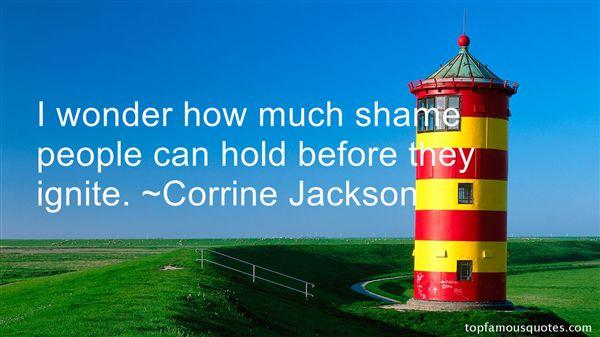 Corrine Jackson Quotes