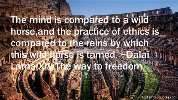 Dalai Lama XIV The Way To Freedom Quotes