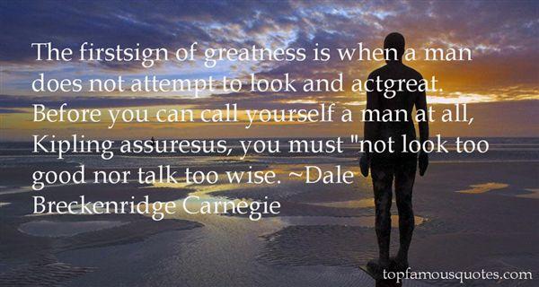 Dale Breckenridge Carnegie Quotes