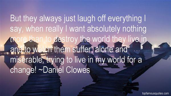 Daniel Clowes Quotes