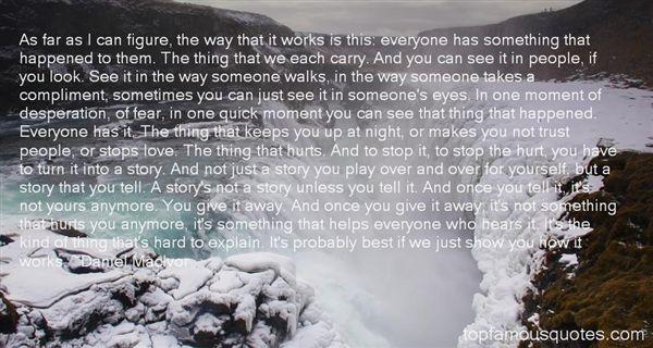 Daniel MacIvor Quotes