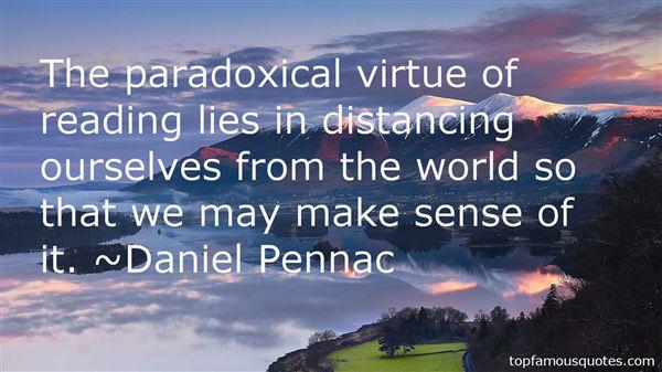 Daniel Pennac Quotes