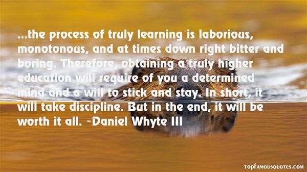 Daniel Whyte III Quotes
