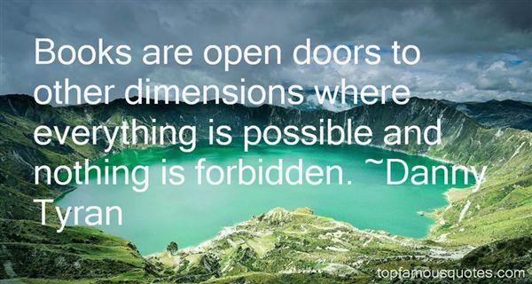 Danny Tyran Quotes
