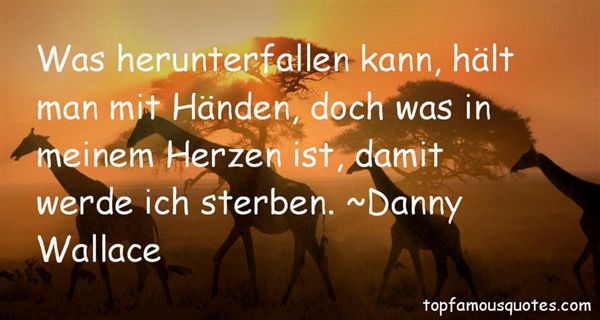 Danny Wallace Quotes